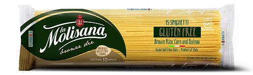 La Molisana Gluten Free Spaghetti N.15 (340 Gr)
