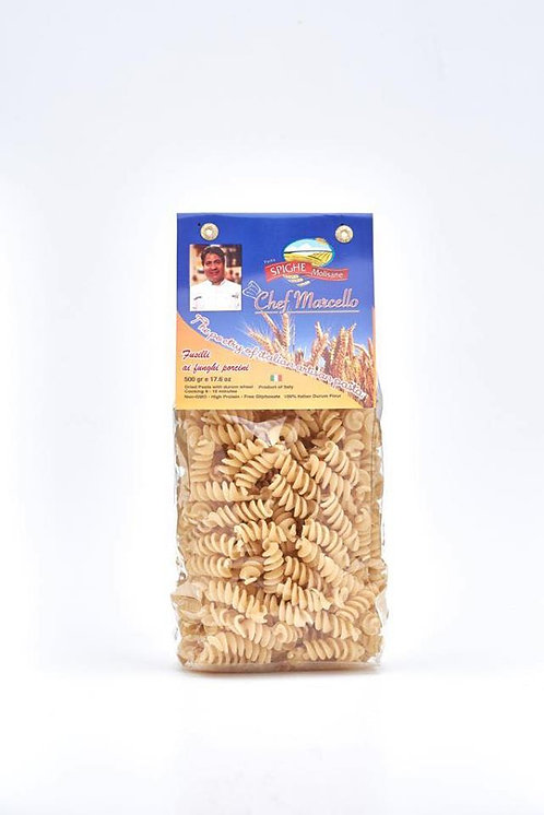 Fusilli ai Funghi Porcini (Porcini Mushrooms flavor)