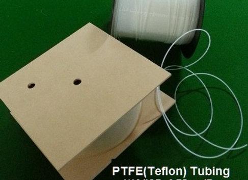 """PTFE(Teflon) Tubing; 1/16""""OD x 0.75mmID; per metre"""