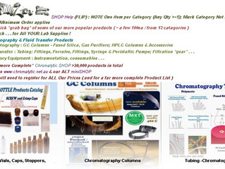 Chromtech-AUS Australian Supplier / Distributor of Chromatography and Fluid Transfer Products