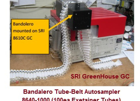 Bandalero Tube-Belt AutoSampler for SRI GreenHouse GC 8610-0040