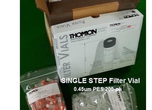 SingleStep Filter Vial Thompson; 0.45um PES, 200-pk