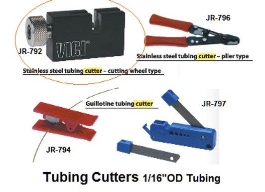 Stainless Steel Tube Cutter (Wheel Type), JR-792, ea