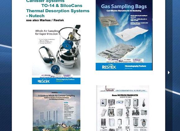 Gas Sampling Bags