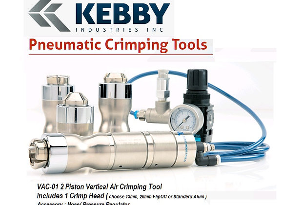Kebby Vertical AirCrimper Tools 2xPiston