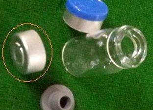 13mm Aluminium Seals Silver with Centre Tear Out,each (100-pk)