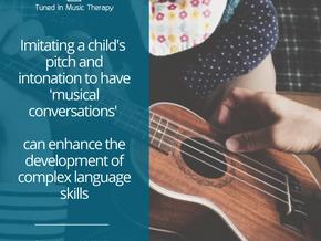 Music aids communication & speech