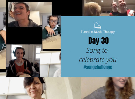 SONG CHALLENGE DAY 30: Song to celebrate you!