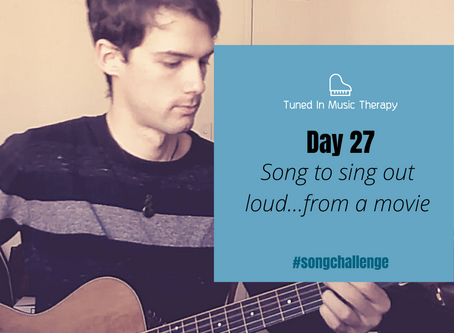 SONG CHALLENGE DAY 27: Song to sing loud, from a movie