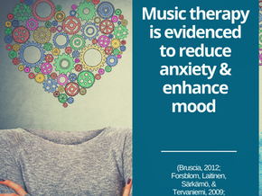 Music Therapy & managing 'big emotions'
