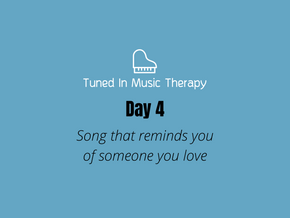 SONG CHALLENGE DAY 4: Song reminding you of love