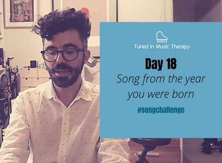 SONG CHALLENGE DAY 18: Song from the year you're born