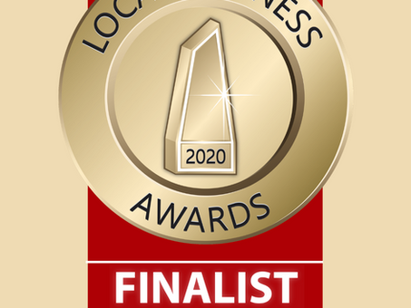 Local Business Awards - Finalist! Yay!