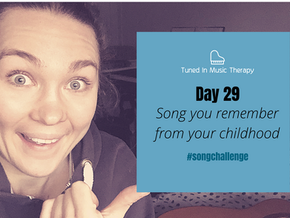 SONG CHALLENGE DAY 29: Song you remember from your childhood