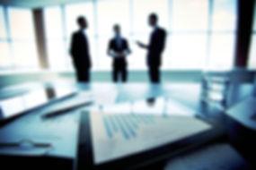 reunião de negócios
