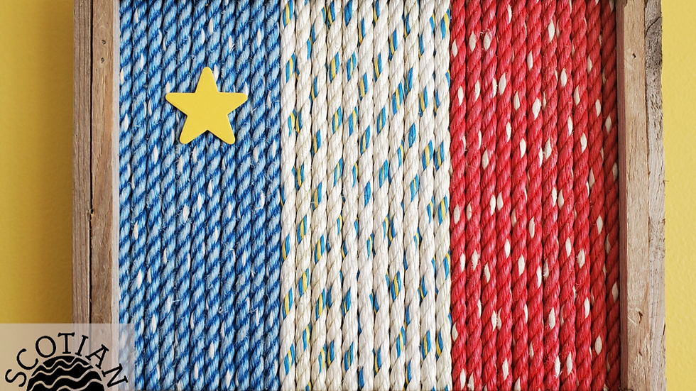 Acadian Flag Rope Rescue