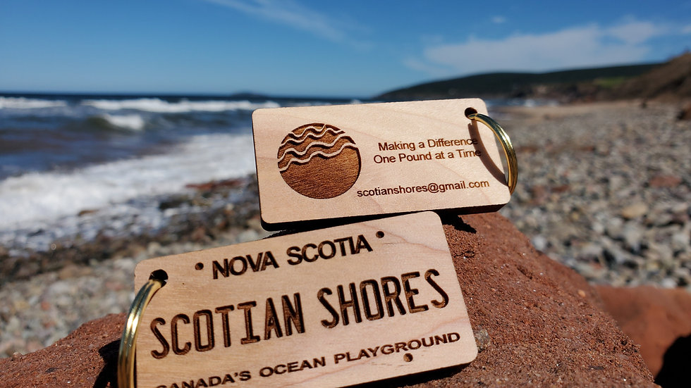 Scotian Shores Keychain