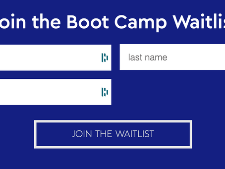 Product Launch Boot Camp Waitlist Now Open