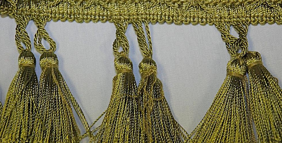 Green Apple Twin Tassel Fringe
