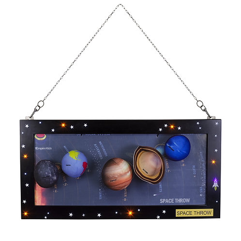 Deluxe Package - All Four Plush Toys, Eight Planets, LED light Board Frame etc.