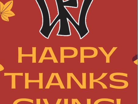 Happy Thanksgiving 🦃