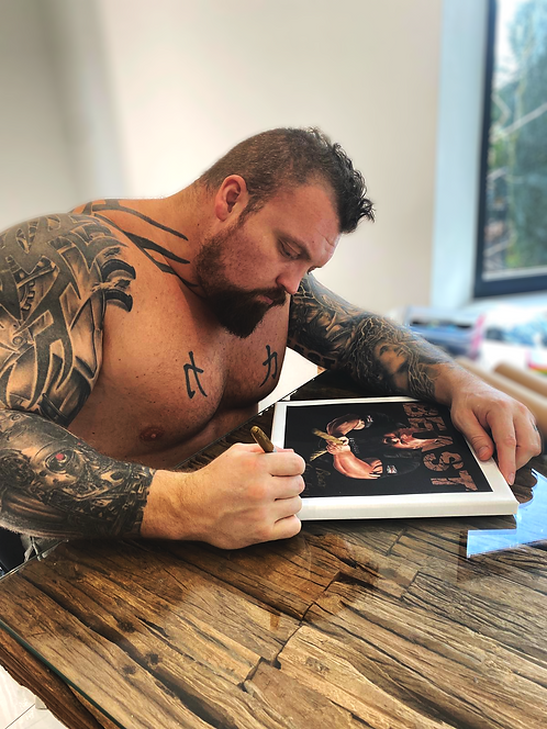 SIGNED BEAST canvas
