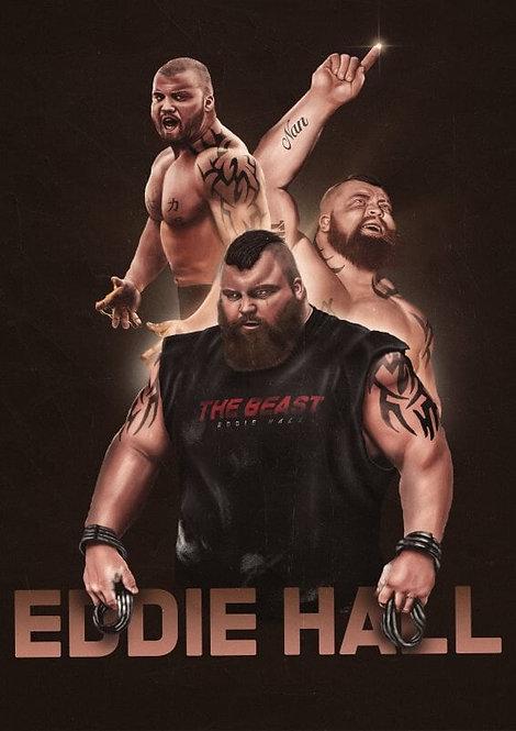 SIGNED Evolution of Eddie Hall