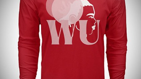 We Unite Chrismon Red Long-sleeved Tee