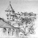 Bischöfliches Schloss, Chur, 1896