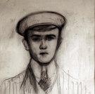 Bildnis eines Studenten, um 1912