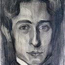 Bildnis von Edgar Vital (gezeichnet von Numa Donzé), München 1904