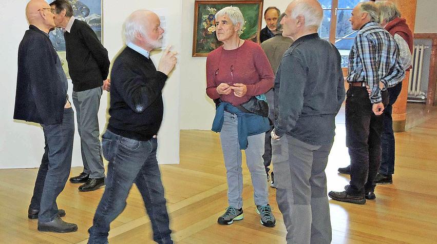 Besucher des Kulturarchiv Unterengadin ...
