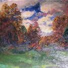 Herbst im Engadin, 1924