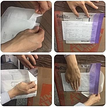 贴运单,FedEx Pouch,免费打包材料,行李快递,行李邮寄,寄行李回国,打包指南,回国行李