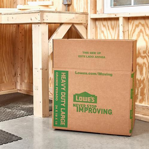 Lowes搬家专用纸箱 (24*18*18 Heavy Duty Moving Box)