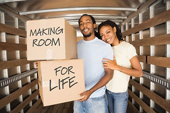 moving, packing, renovating, divorce