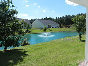 Oxford square townhomes in Goldsboro, NC offer year round yard maintenance