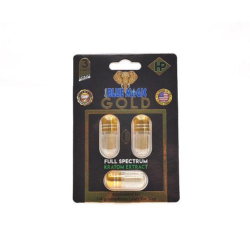 Gold 3 count capsules