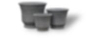 Light Concrete Planter   Concrete Garden Pots