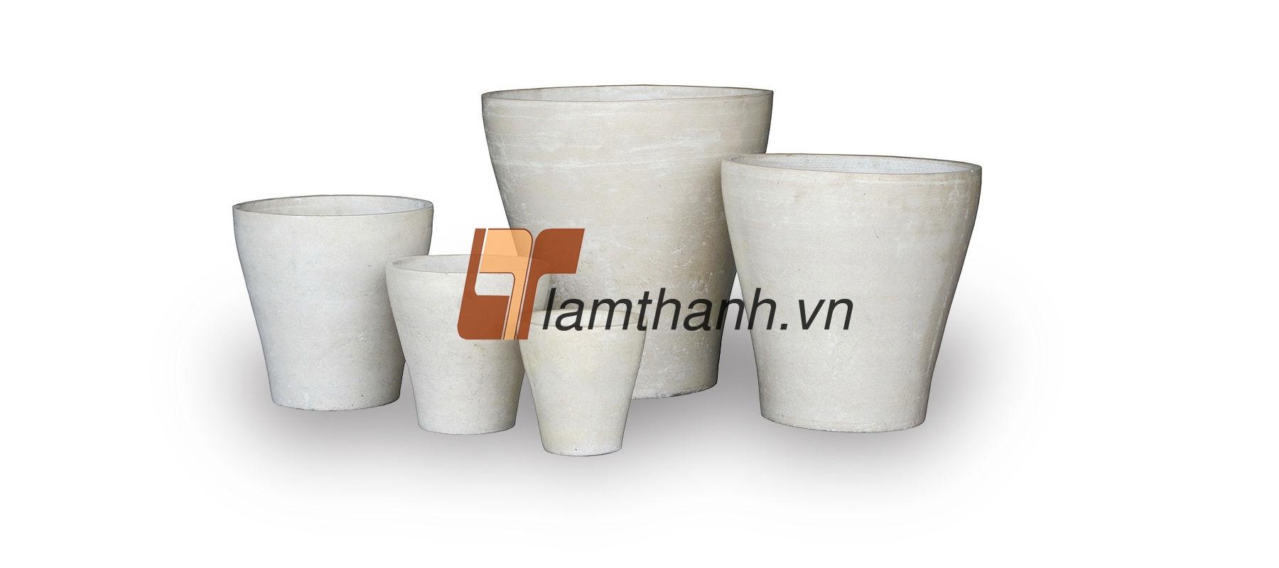 vietnam fibercement, GRC pots 01
