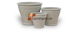 vietnam fibercement, GRC pots 03