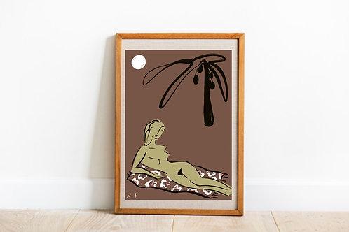 Le nudiste (print)