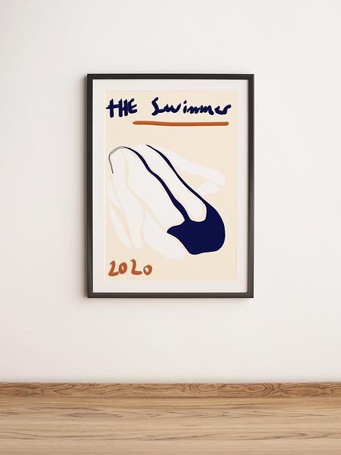The Swimmer (Print)