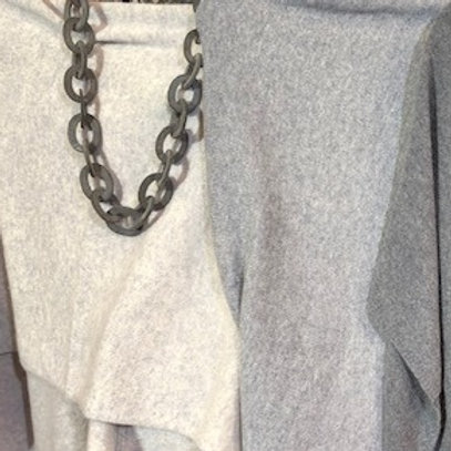 Grey Horn Necklace