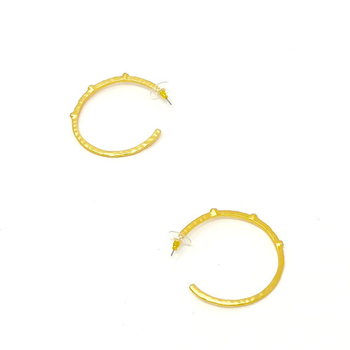 copy of Crystal hoop earring