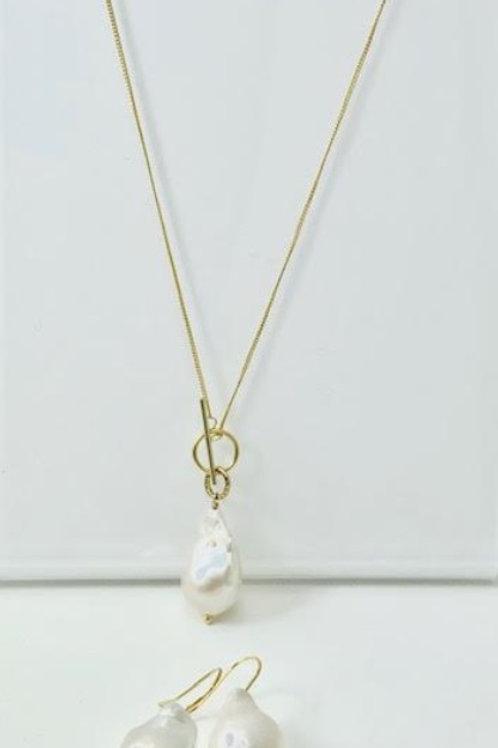 copy of Baroque Pearl Necklace