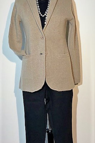 Cozee Cashmere Knitted Blazer