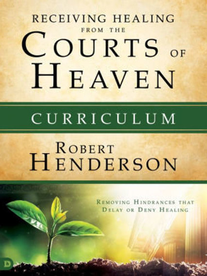 Receiving Healing from the Courts of Heaven Study Set