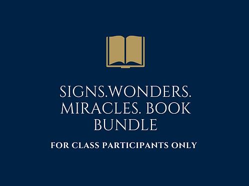 Signs, Wonders & Miracles Book Bundle