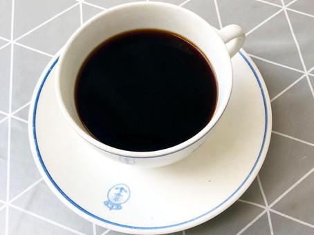 Jag hinner inte dricka kaffe.